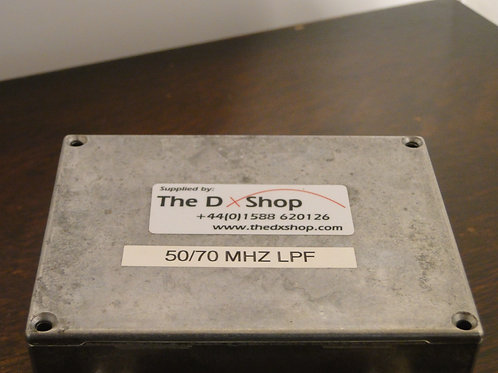 THE DX SHOP 50/70 MHz LOW PASS FILTER