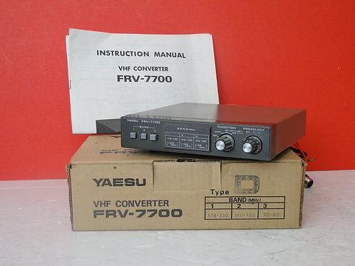 YAESU FRV-7700  VHF CONVERTER  SN 050195