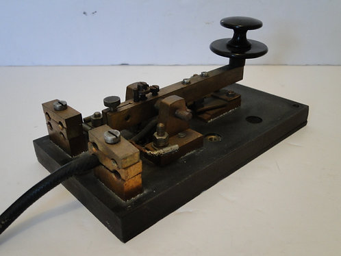 MARCONI TYPE D STRAIGHT MORSE KEY