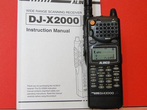 ALINCO DJ-X2000 RECEIVER
