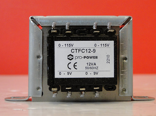 PRO POWER CTFC12-9 Isolation Transformer, Chassis, 12 VA