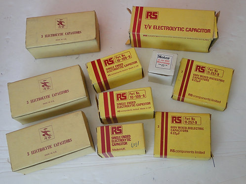 SELECTION OF RS COMPONENTS CAPACITOR