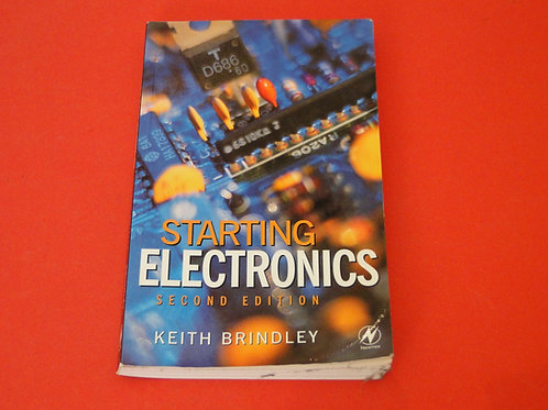 STARING ELECTRONICS 2ND EDITION, KEITH BRINDLEY