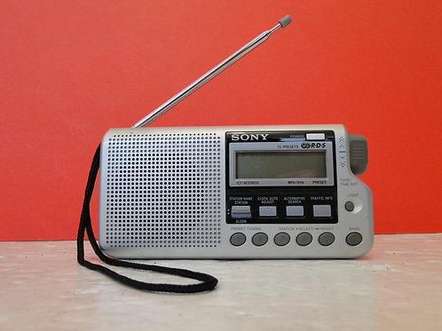 SONY FM/AM RDS RADIO ICF-M33RDS  SN 3030984