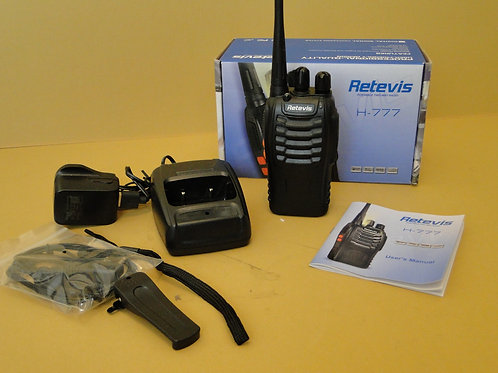 RETEVIS H-777 UHF FM TRANSCEIVER SN 16H7770251289