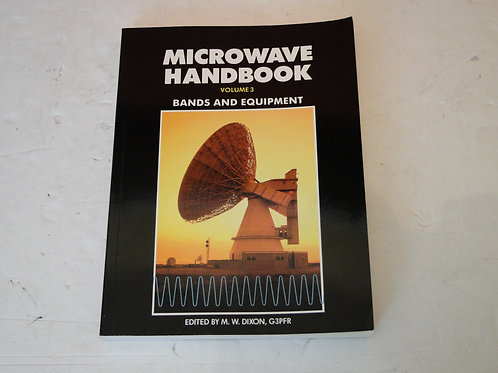 MICROWAVE HANDBOOK VOL 3 BANDS AND EQUIPMENT