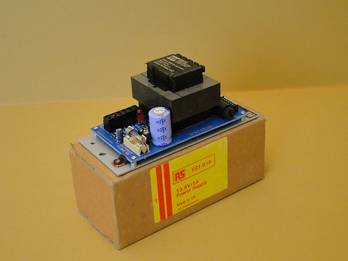 RS 13.6V/1A POWER SUPPLY