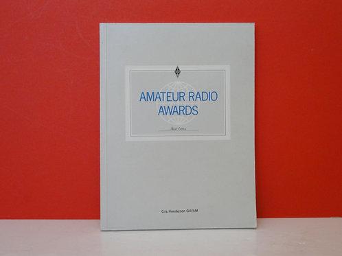 AMATEUR RADIO AWARDS , CRIS HENDERSON G4FAM