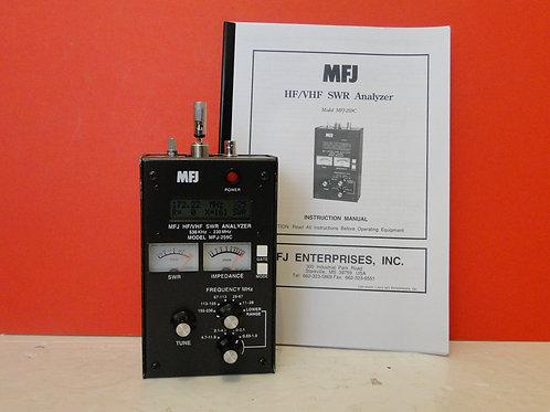 MFJ-259C HF/VHF SWR ANALYZER  530KHz-230MHz