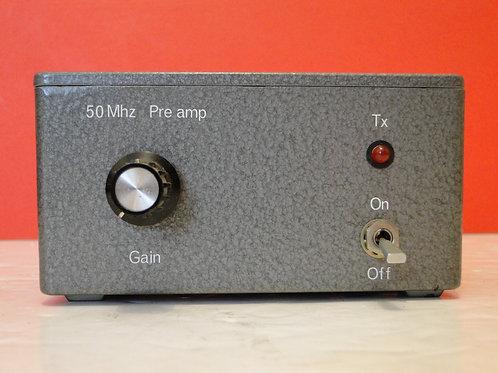 50 MHz PRE AMP