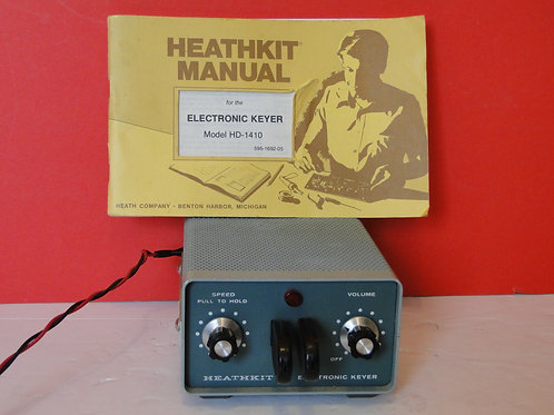 HEATHKIT ELECTRONIC KEYER MODEL HD-1410
