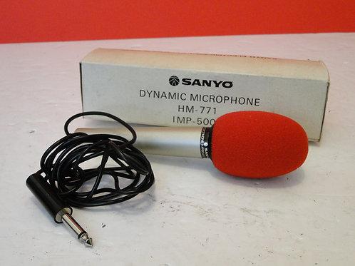 SANYO HM-771 DYNAMIC MICROPHONE