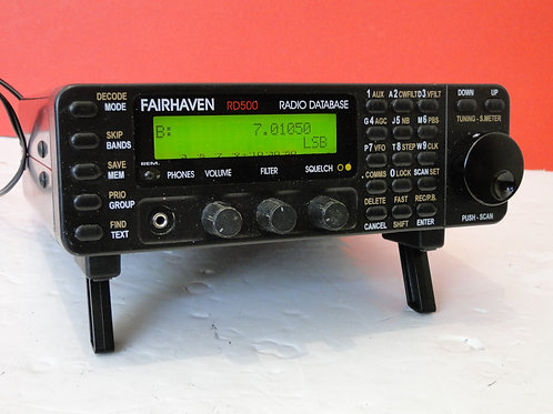 FAIRHAVEN RD500 RADIO DATABASE SN 5957