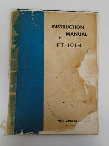 Yaesu FT-101B Instruction Manual