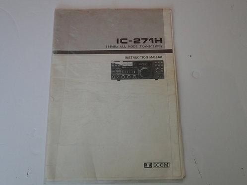ICOM IC-271H MANUAL