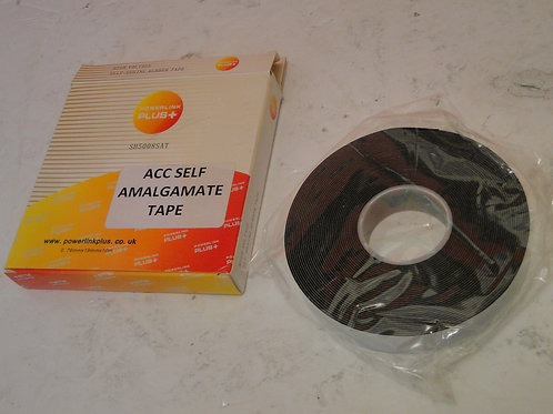 POWERLINK PLUS ACC SELF AMALGAMATE TAPE,  0.76mm x 19mm x 10mm