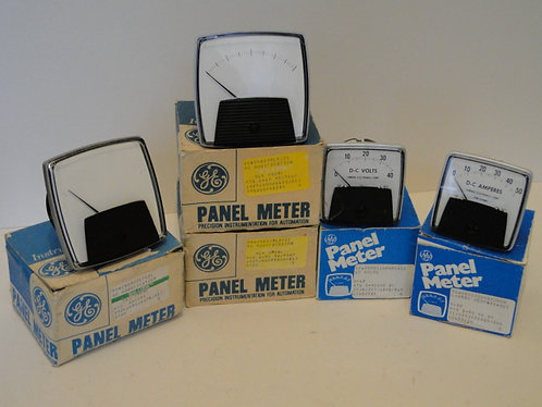 PANEL METERS SELECTION x 5