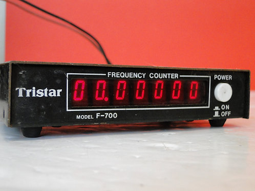 TRISTAR MODEL F-700 FREQUENCY COUNTER