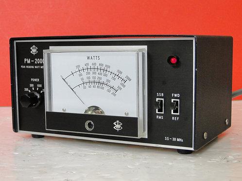 PM-2000 SWR POWER METER