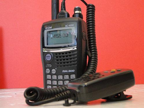 ICOM IC-E91 VHF/UHF FM TRANSCEIVER