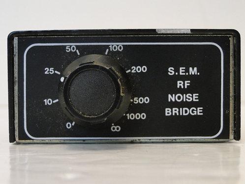 S.E.M RF NOISE BRIDGE