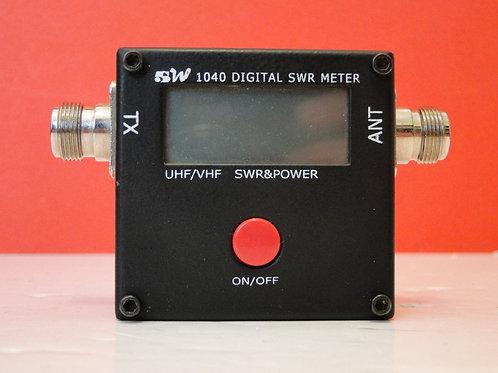 REDOT 5W 1040 DIGITAL SWR METER UHF/VHF  SN 0902219