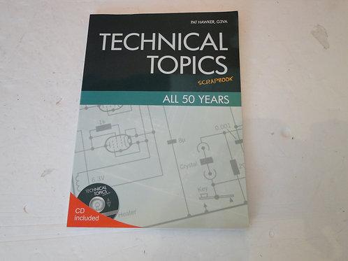 TECHNICAL TOPICS SCRAPBOOK 2005-2008, PAT HAWKER