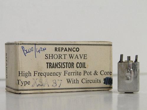 Repanco Transistor coil and push pull driver transformer