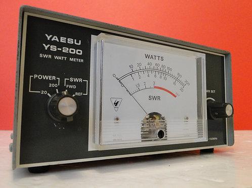 YAESU YS-200 SWR WATT METER