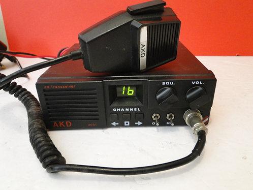 AKD 4001 4m Transciever /mic /powerlead