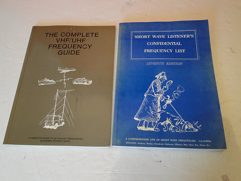 THE COMPLETE VHF/UHF FREQUENCY GUIDE /SHORTWAVE LISTENERS CONFIDENTIAL FREQ