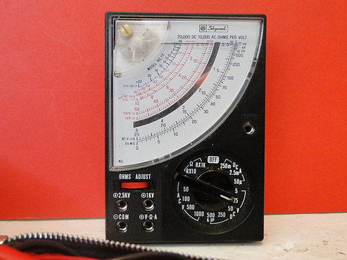 SKYWOOD MODEL NO. T2 VOLTMETER WITH CASE