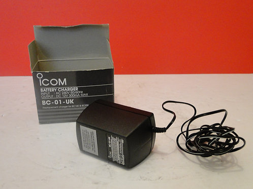ICOM BATTERY CHARGER BC-01-UK