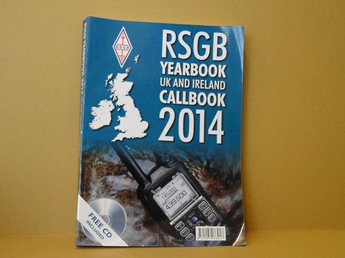 RSGB YEARBOOK 2014 UK AND IRELAND