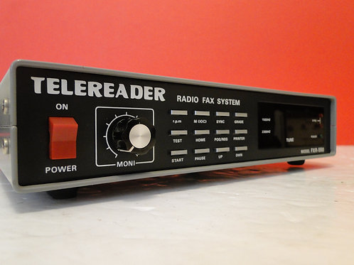 TELEREADER MODEL FXR-550 RADIO FAX SYSTEM  SN 732073