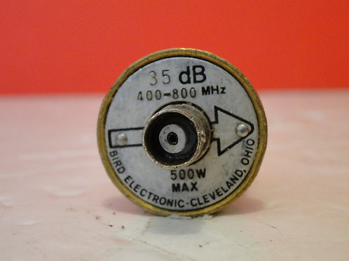 BIRD ELEMENT SLUG 35 dB  400-800MHz