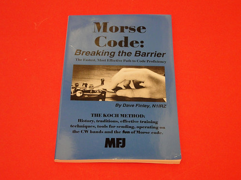 MORSE CODE: BREAKING THE BARRIER, DAVE FINLEY
