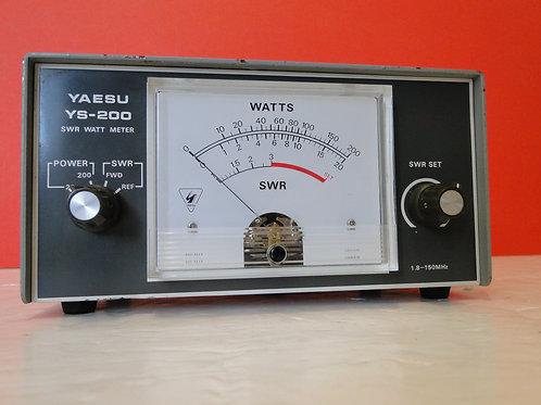 YAESU YS-200 SWR WATT METER  SN 2L050046