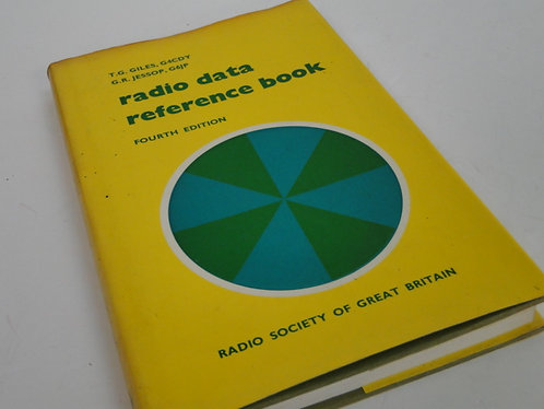 RADIO DATA REFERENCE BOOK FOURTH EDITION