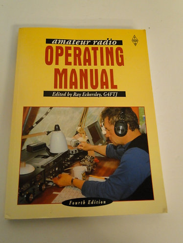 Amateur Radio Operating Manual (Paperback) by R.J. Eckersley (Editor)