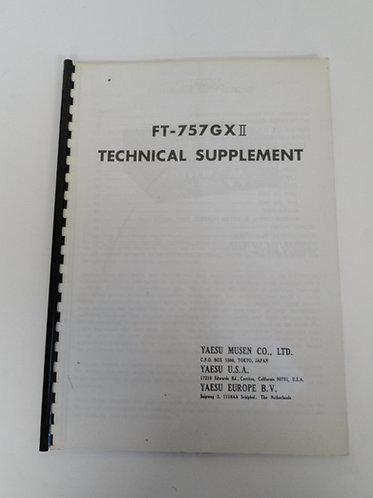 Yaesu FT-757GX 2 Technical Supplement