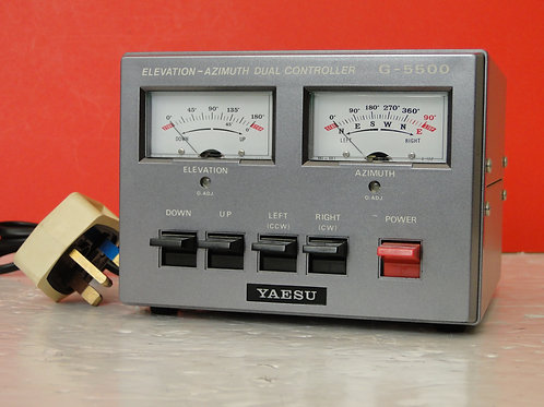 YAESU G-5500 ELEVATION-AZIMUTH DUAL CONTROLLER SN 3D650007