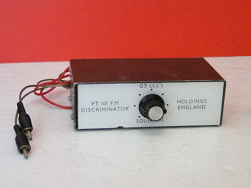FT 101 FM DISCRIMINATOR  G3 LLL'S