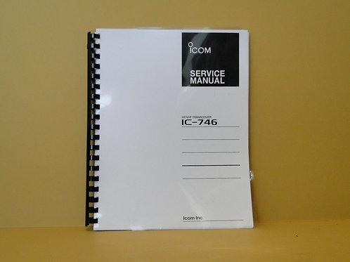 ICOM IC-746 SERVICE MANUAL