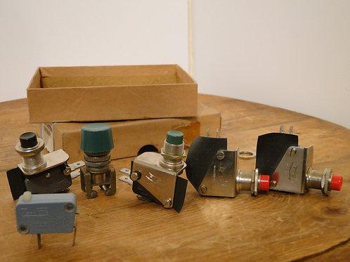 Various Micro Switches Zero plus RS etc