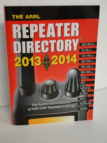 The ARRL Reapeater Directory 2013/2014