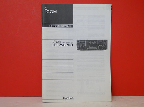 ICOM IC-756PRO MANUAL