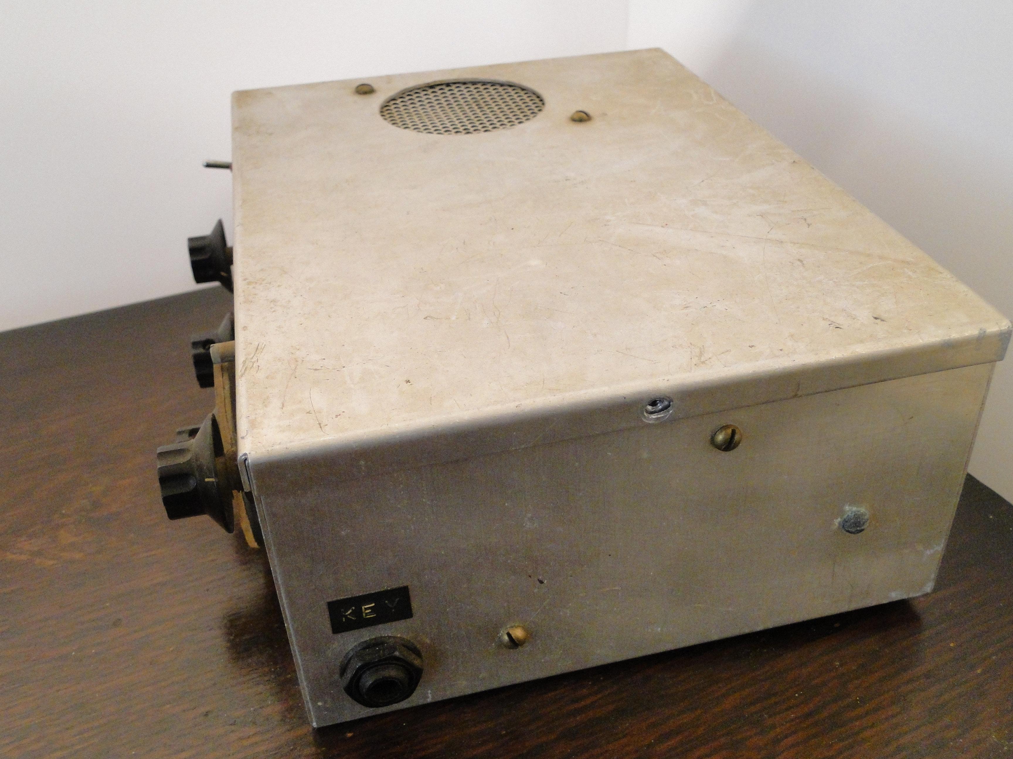 Homemade kit 80m 1w CW QRP Transceiver