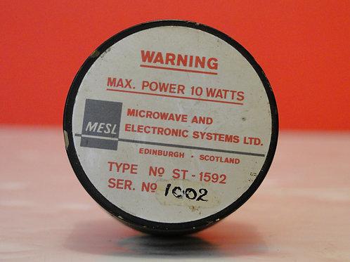 MESL ATTENUATOR 10 WATTS TYPE ST-1592  SN 1002