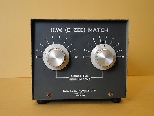 KW (E-ZEE) MATCH SN I962